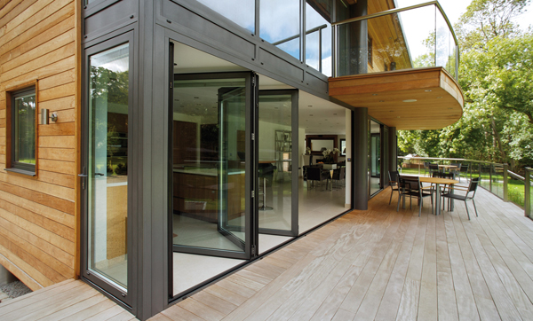 Aluminium Folding Sliding Doors 600 x 362